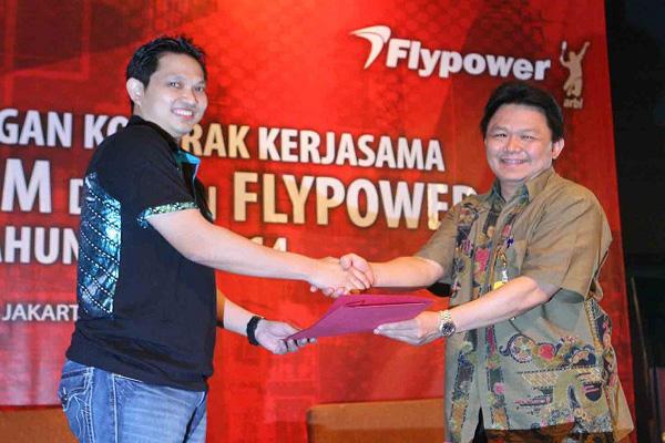 Kerjasama Flypower Dengan PBSI