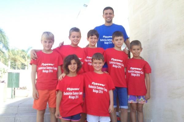 Badminton Summer Camp Malaga 2014