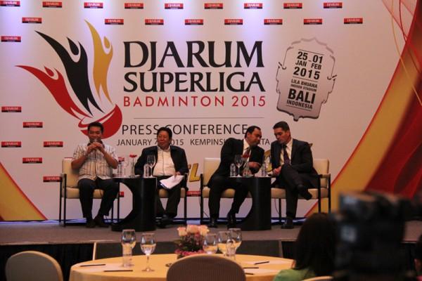 Press Conference Djarum Superliga 2015