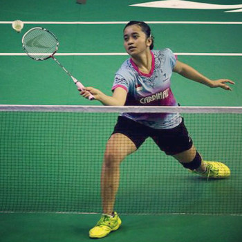 Hera Desi Ana Rachmawati Juara Sirnas Lampung (Kredit Foto : Djarum Badminton)